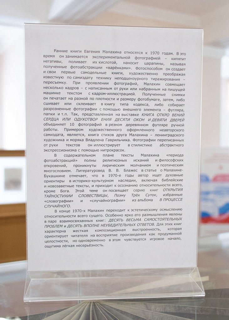 14.02 / 28.03.2019 «БУК-АРТ Евгения Малахина/Старика Букашкина»