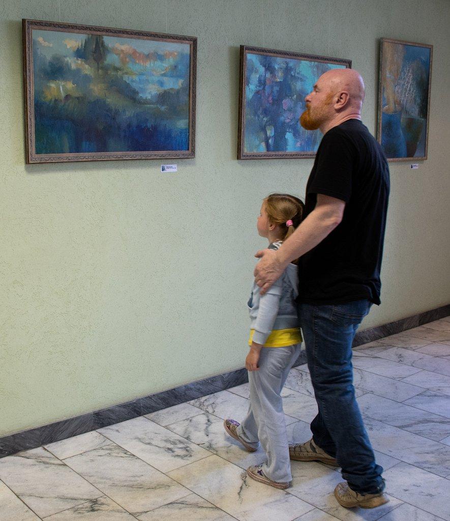 11.07 / 31.07.2018 Выставка живописи Александра Нама «Остров, озеро, овраг»